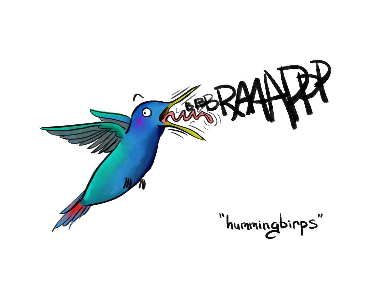 Hummingbirps