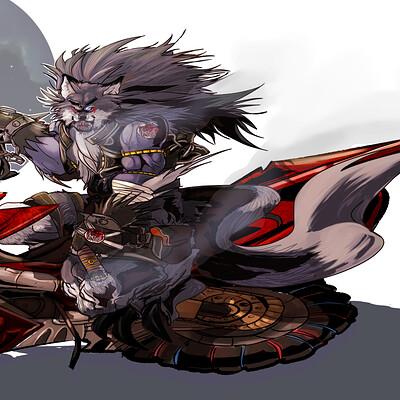 Dimitri fisher bear motorcycle