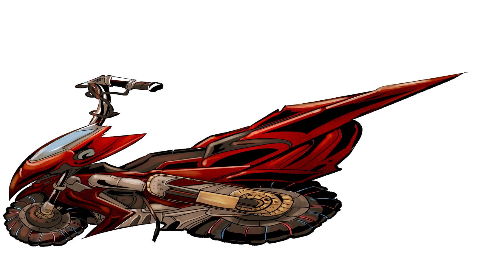 Just the Bike.