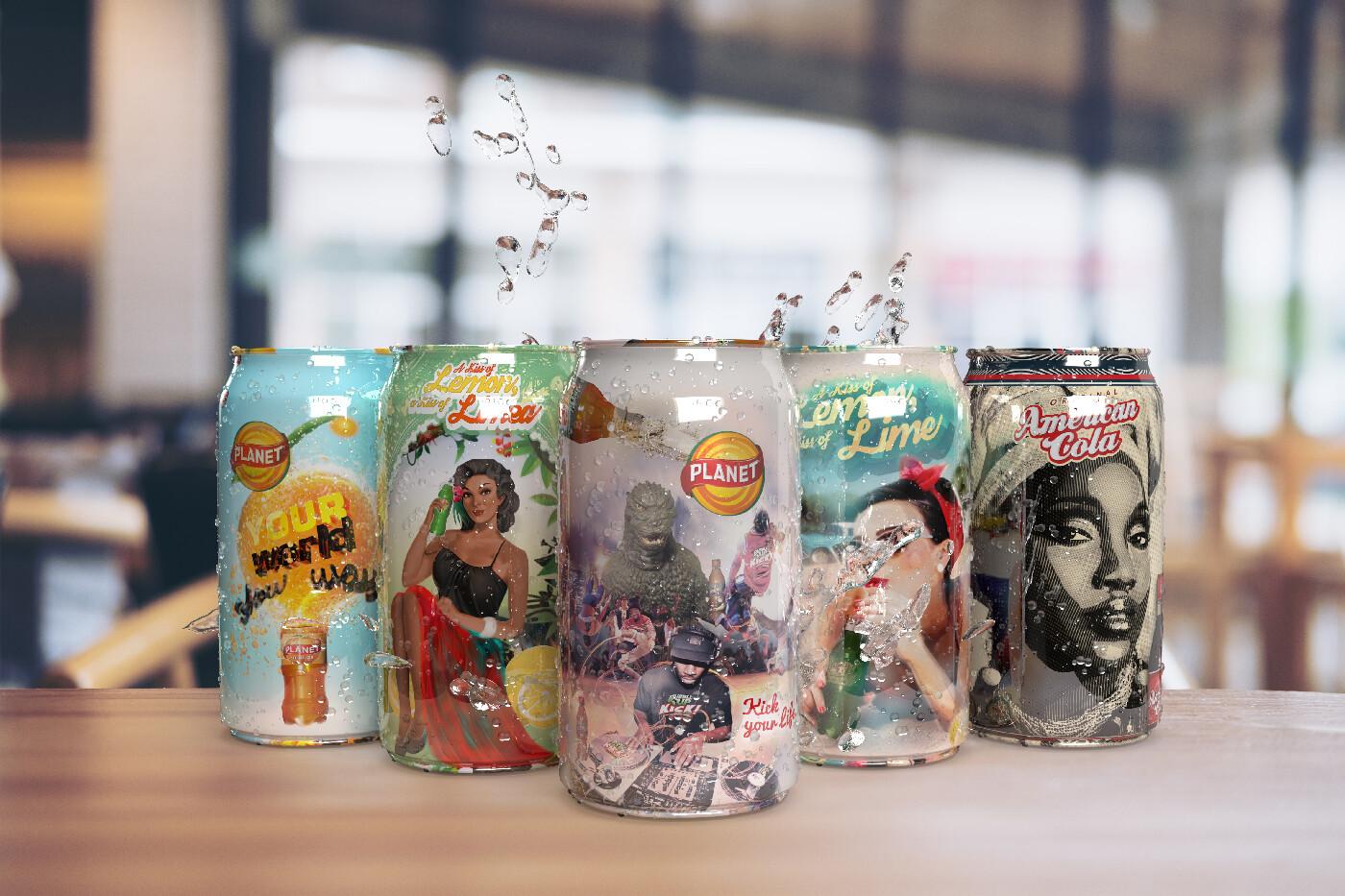 Soft drink bottle design