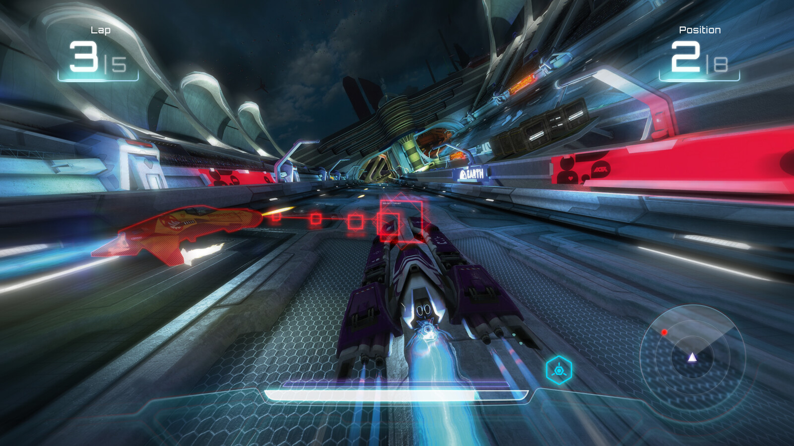 Wipeout HUD Concept '14