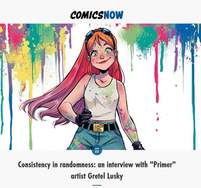 Link: https://www.comics-now.com/home/2020/6/23/dc-comics-primer-gretel-lusky-interview