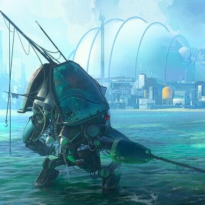 Leon tukker fishingmechbeachas
