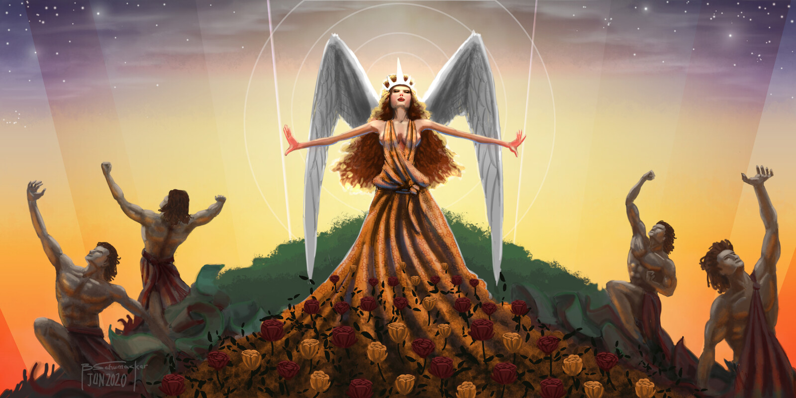 Eos - The Goddess of Dawn