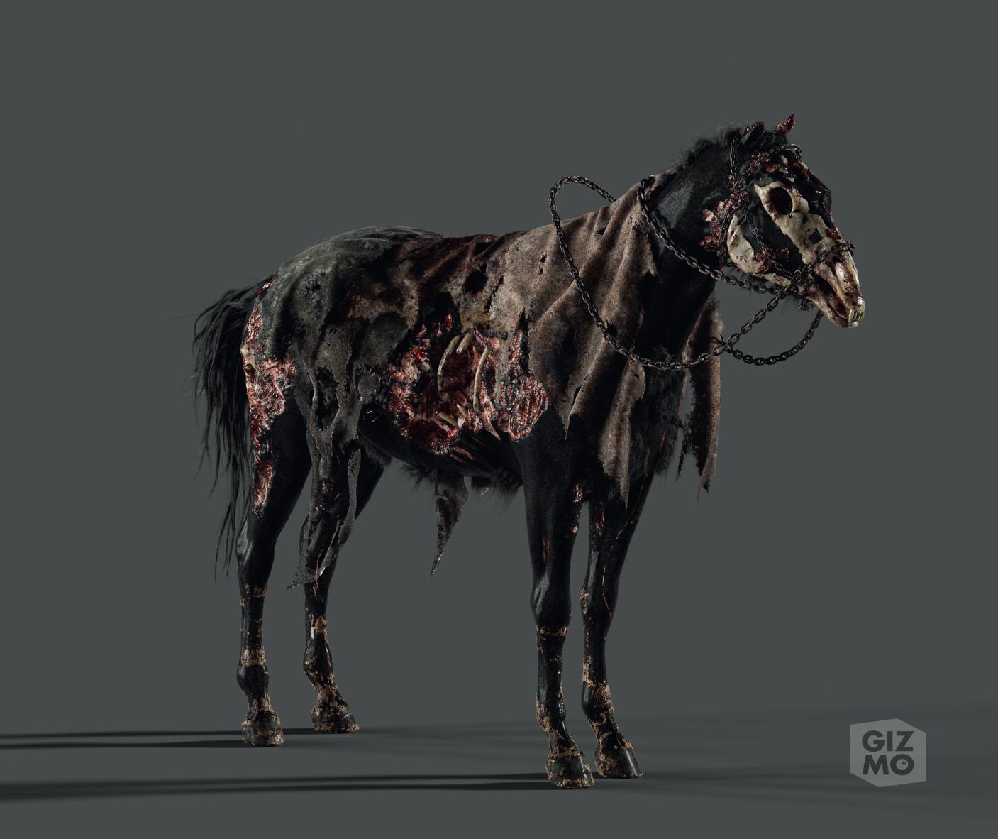 3d Character Artist Undead Horse