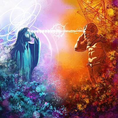 Logan walden lucifer jesus raw artwork