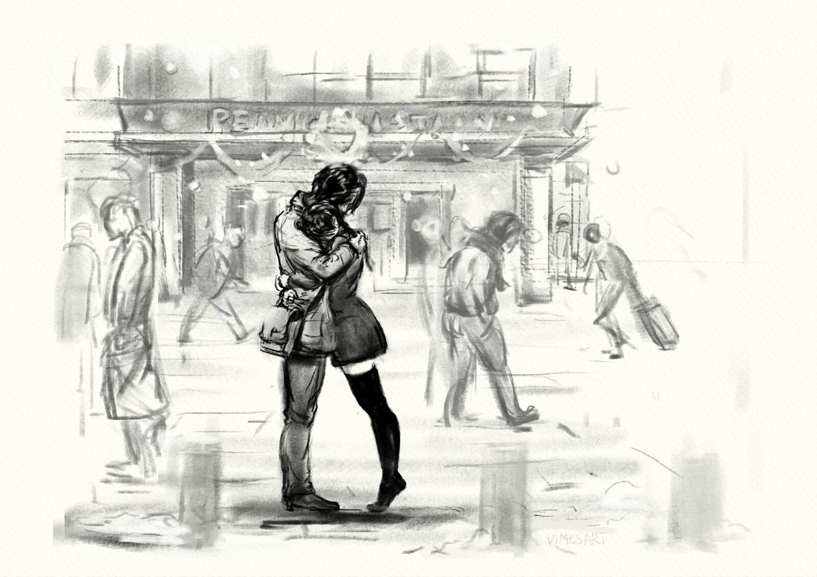 A last Goodbye sketch