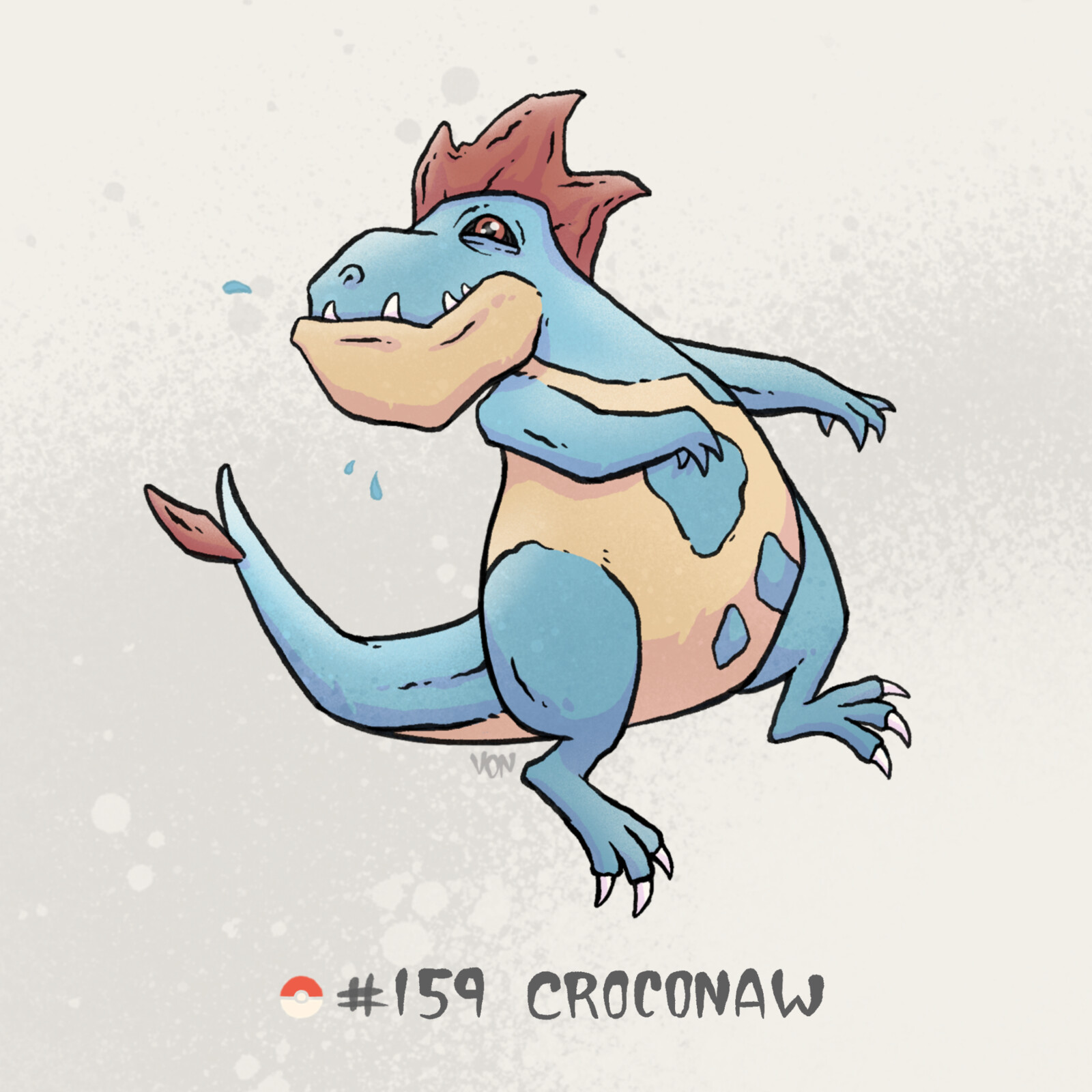 #159 Croconaw