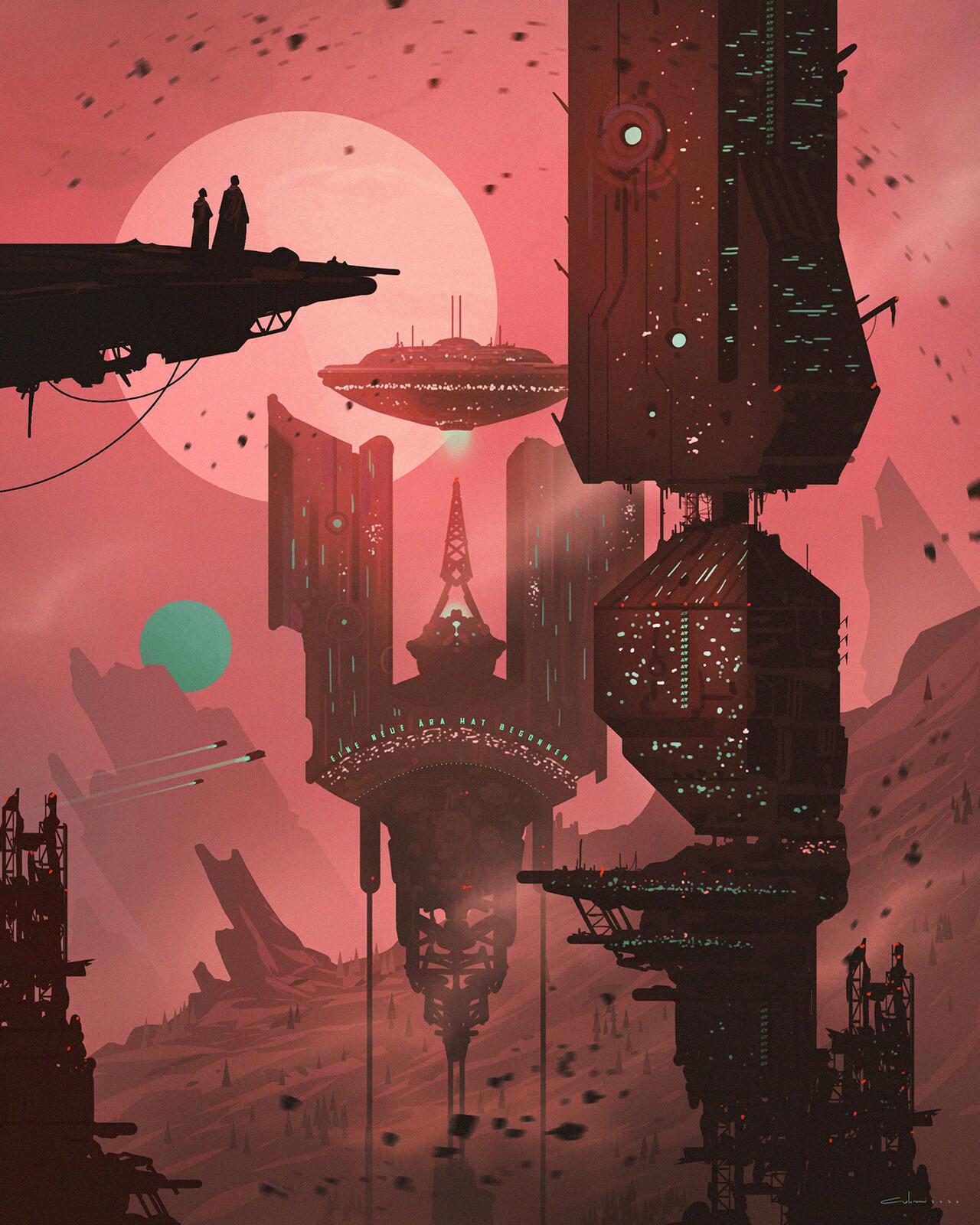 Planet X - Scifi Environment Design