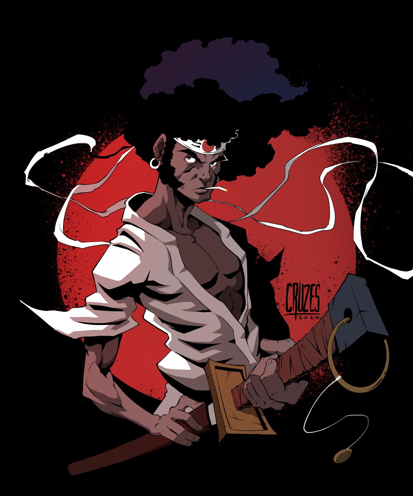 Leandro Cruzes Afro Samurai