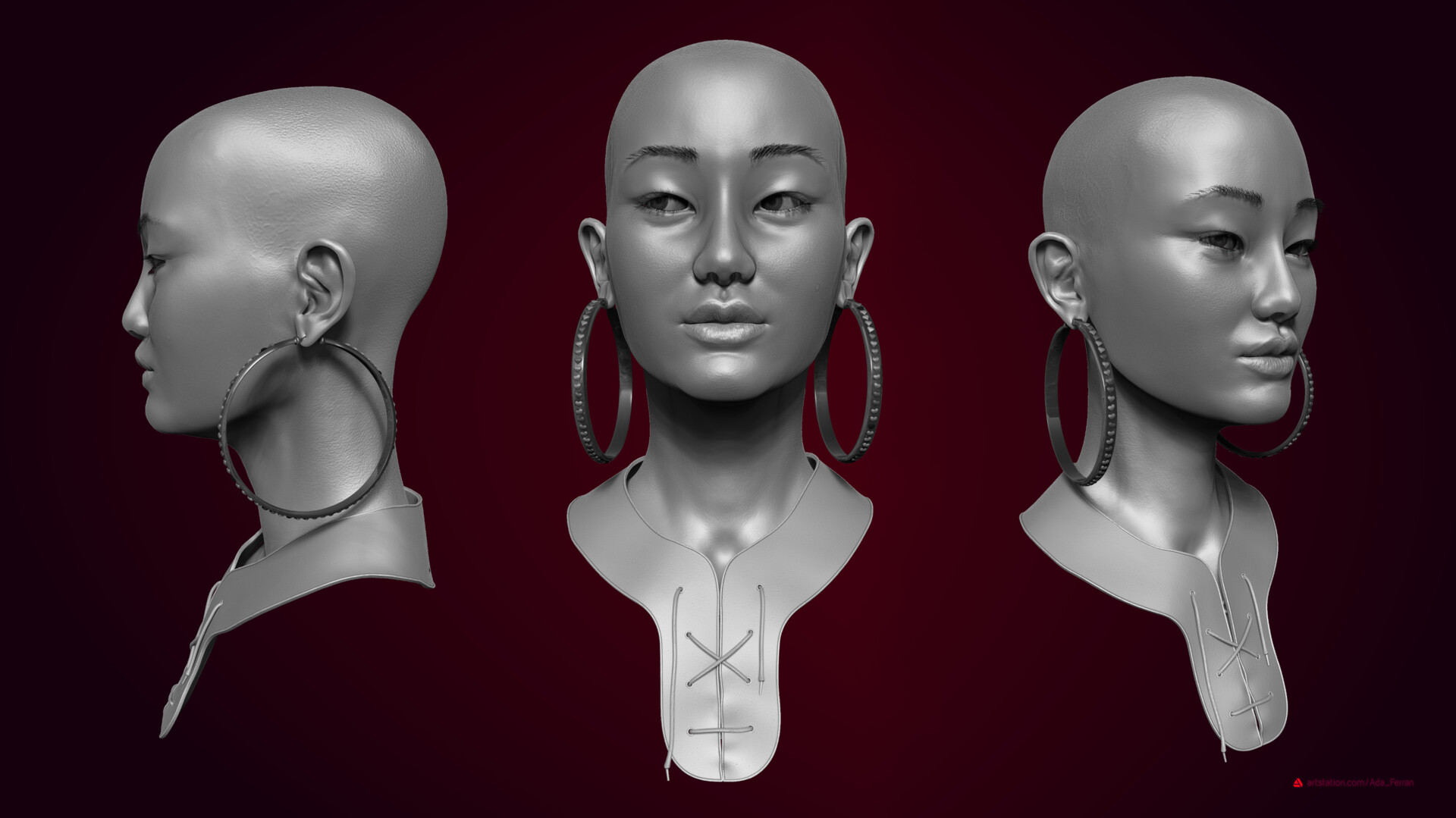 Sculpt views on Zbrush