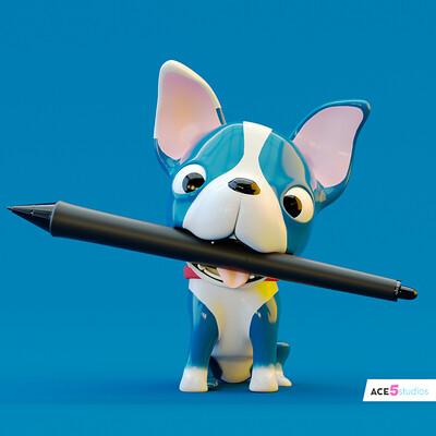 Puppy Dog - Wacom holder