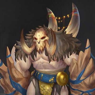 Buri Tribesmen Warlord