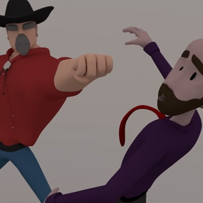 "3D Character Modeling for ""Troy Vs Webber"""