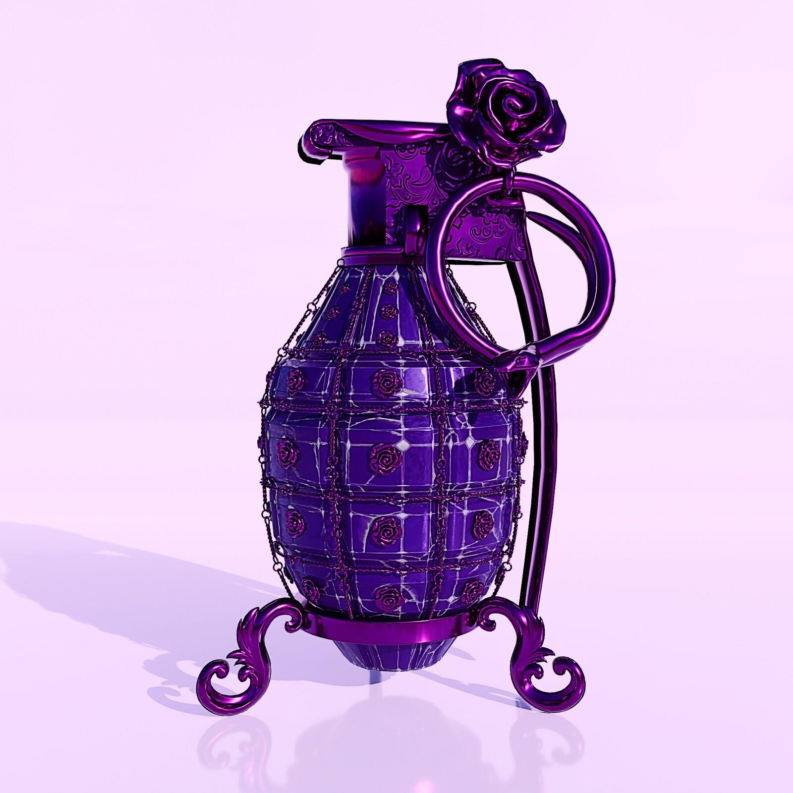 Pyrobolus Convenusto - Amethyst