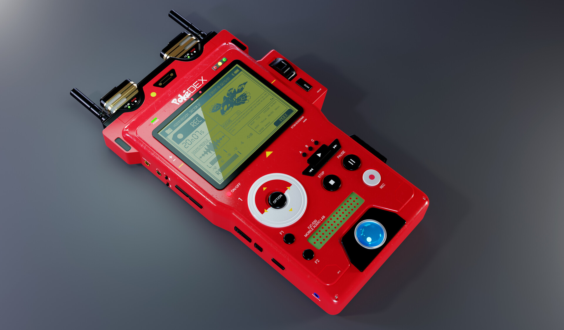 PokéDex Mobile Audio Lab