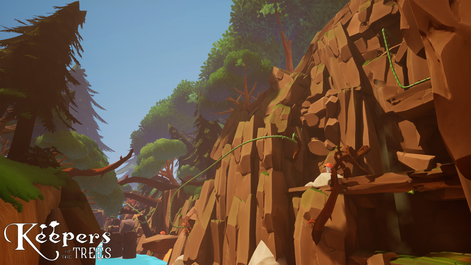 Modeled and set-dressed mountain. Additional set-dressing by Konstantinos Tzinas and Sam Roberts.