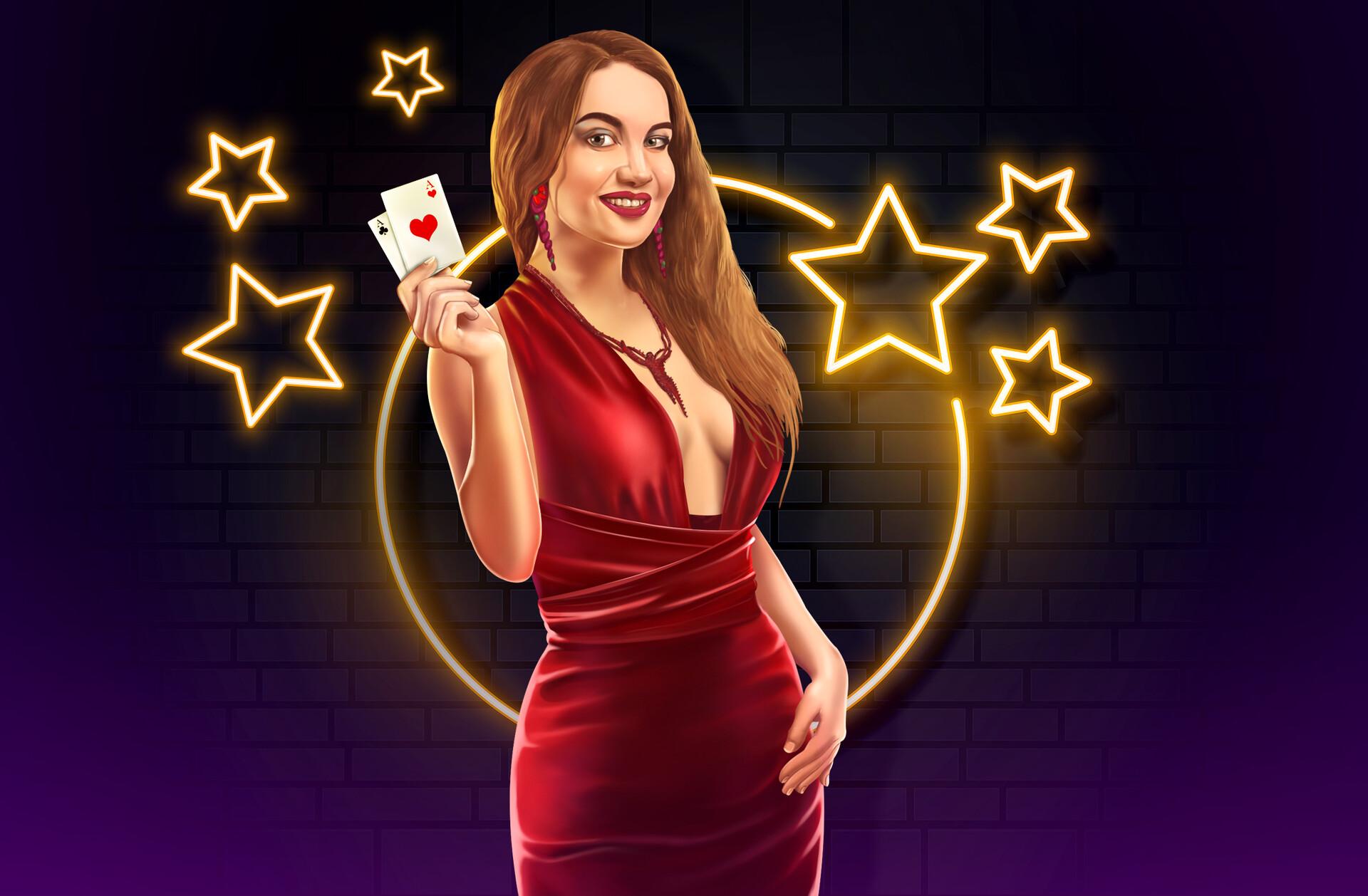 ArtStation - Casino Lady, PITHANI AV