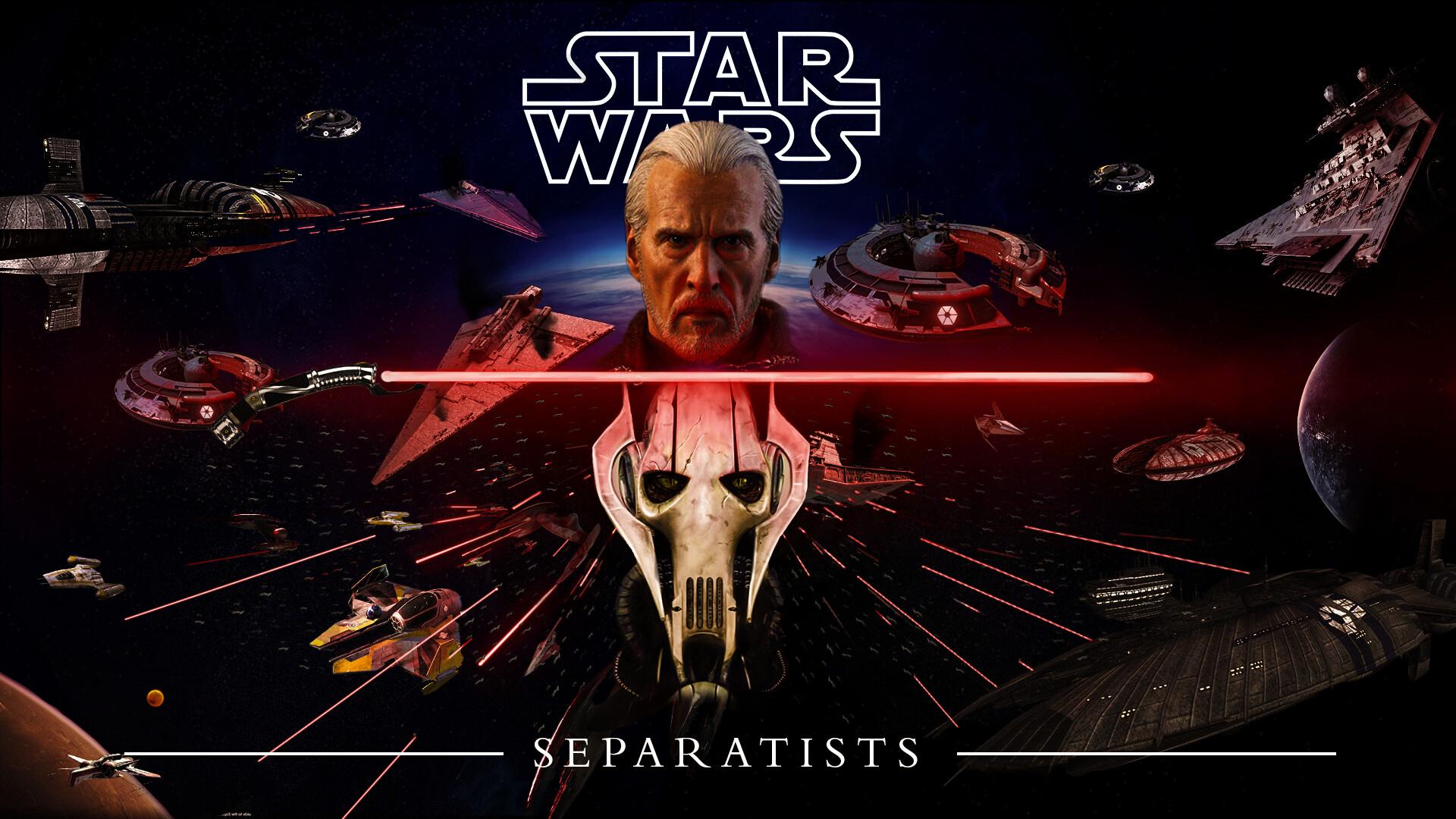 Artstation Star Wars Separtists Vengence Wallpaper Enrico Forza