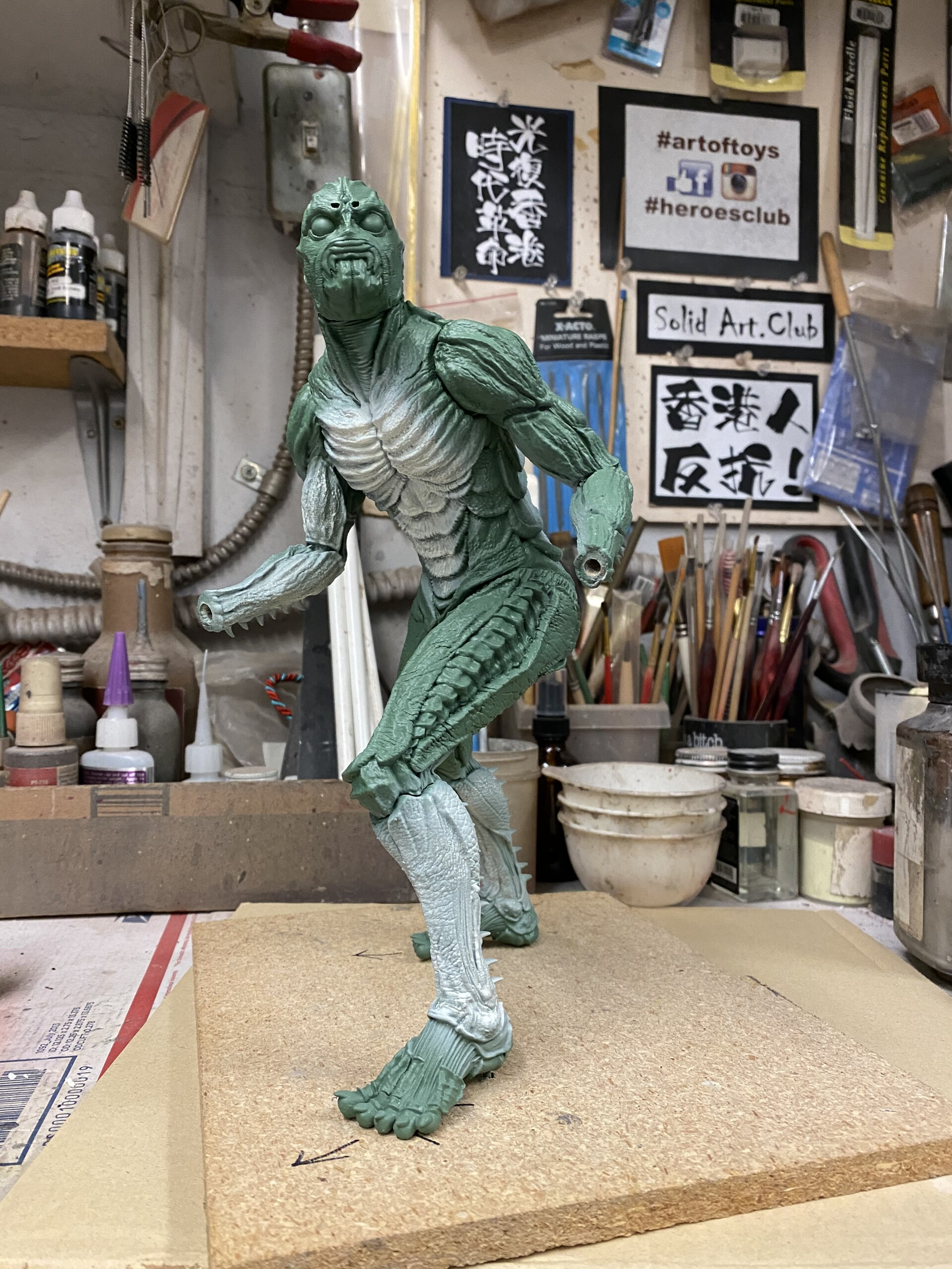 W.I.P. 真・仮面ライダー  Shin Kamen Rider 1:6 scale Art Statue  https://www.solidart.club/