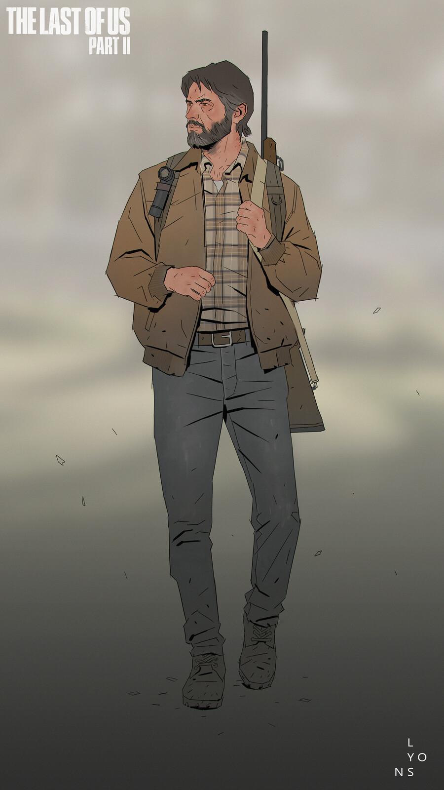 The Last Of Us Part 2 - Joel Costume Design