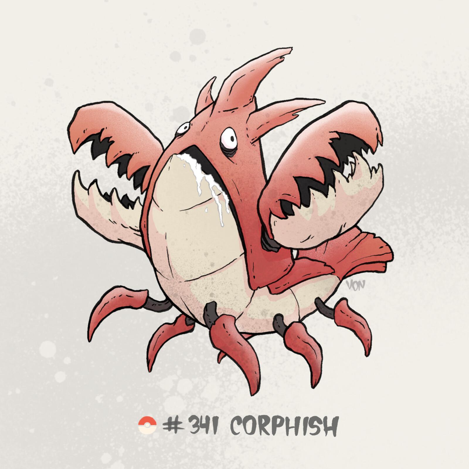 #341 Corphish