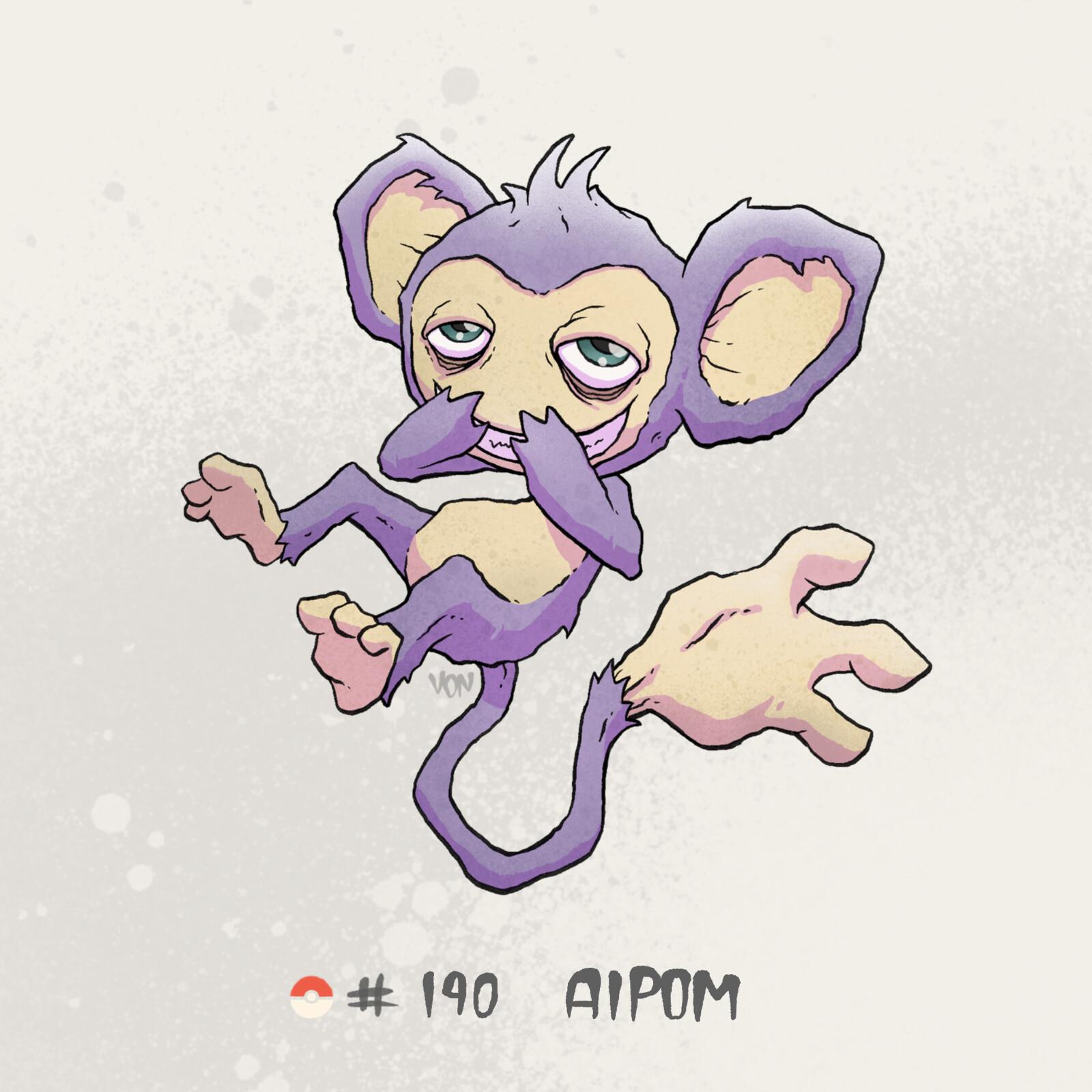 #190 Aipom