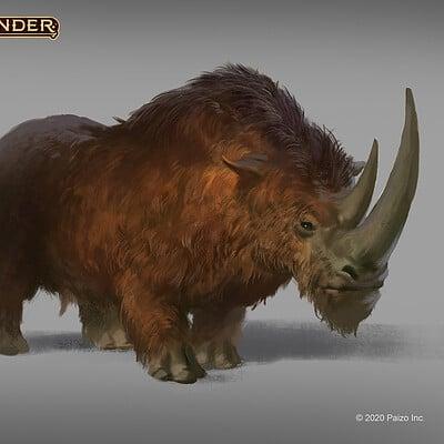 Raph herrera lomotan pzo2104 woolly rhino