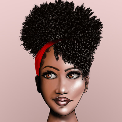 Magalie bergeron buste afroamericaine