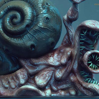 Surajit sen psycho snail by surajitsen june2020aa