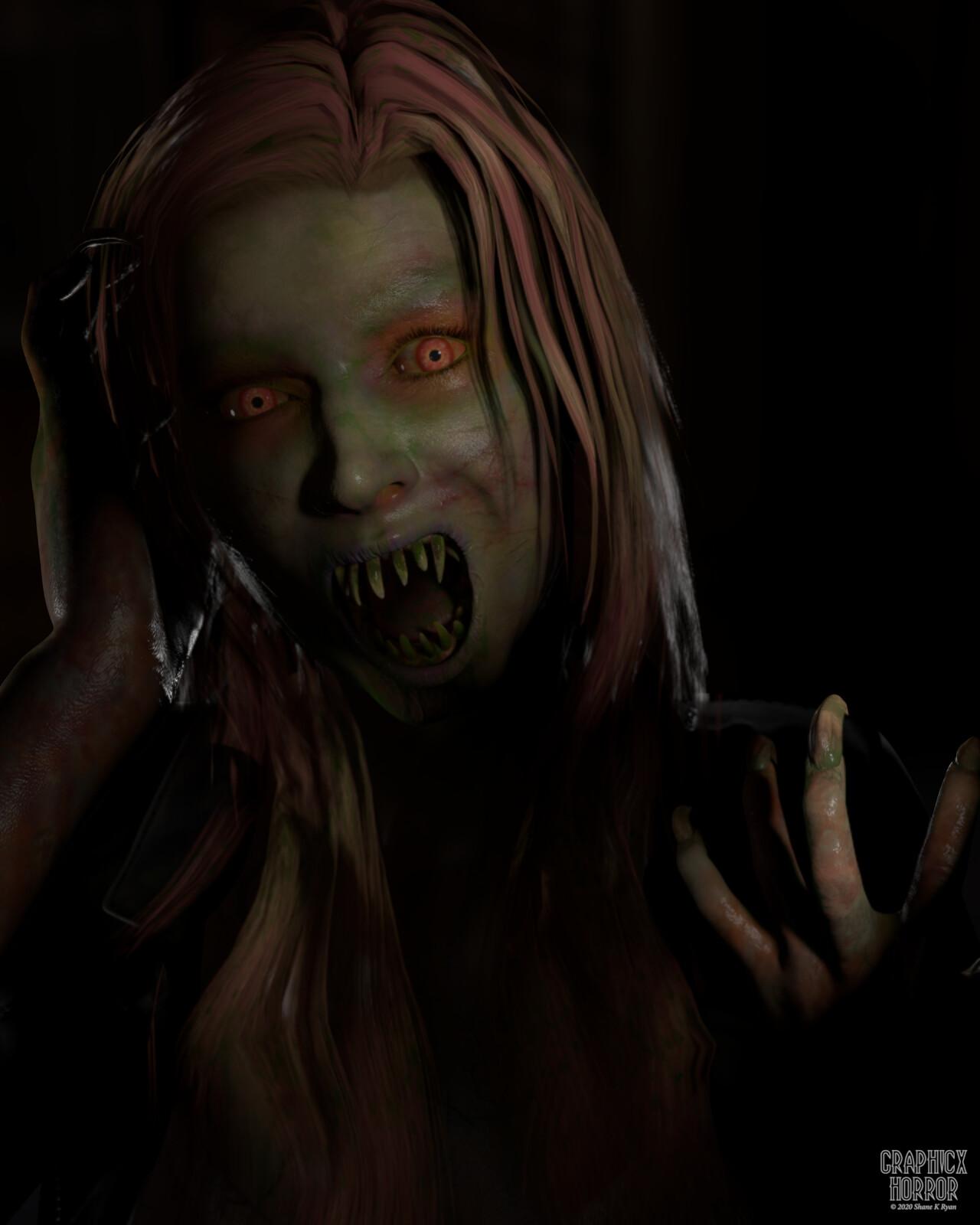 Demon Portrait.