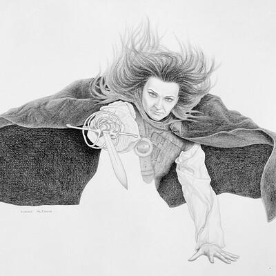 Juraj mlcoch drawing 37 juraj mlcoch fencing
