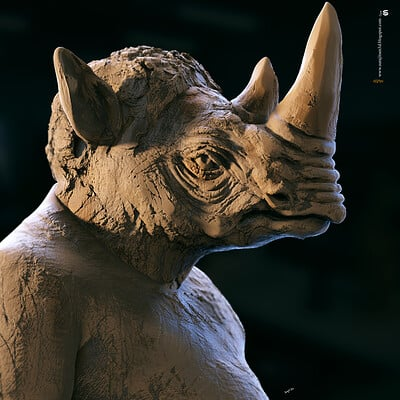 Surajit sen rhan digital sculpture surajitsen jul2020a