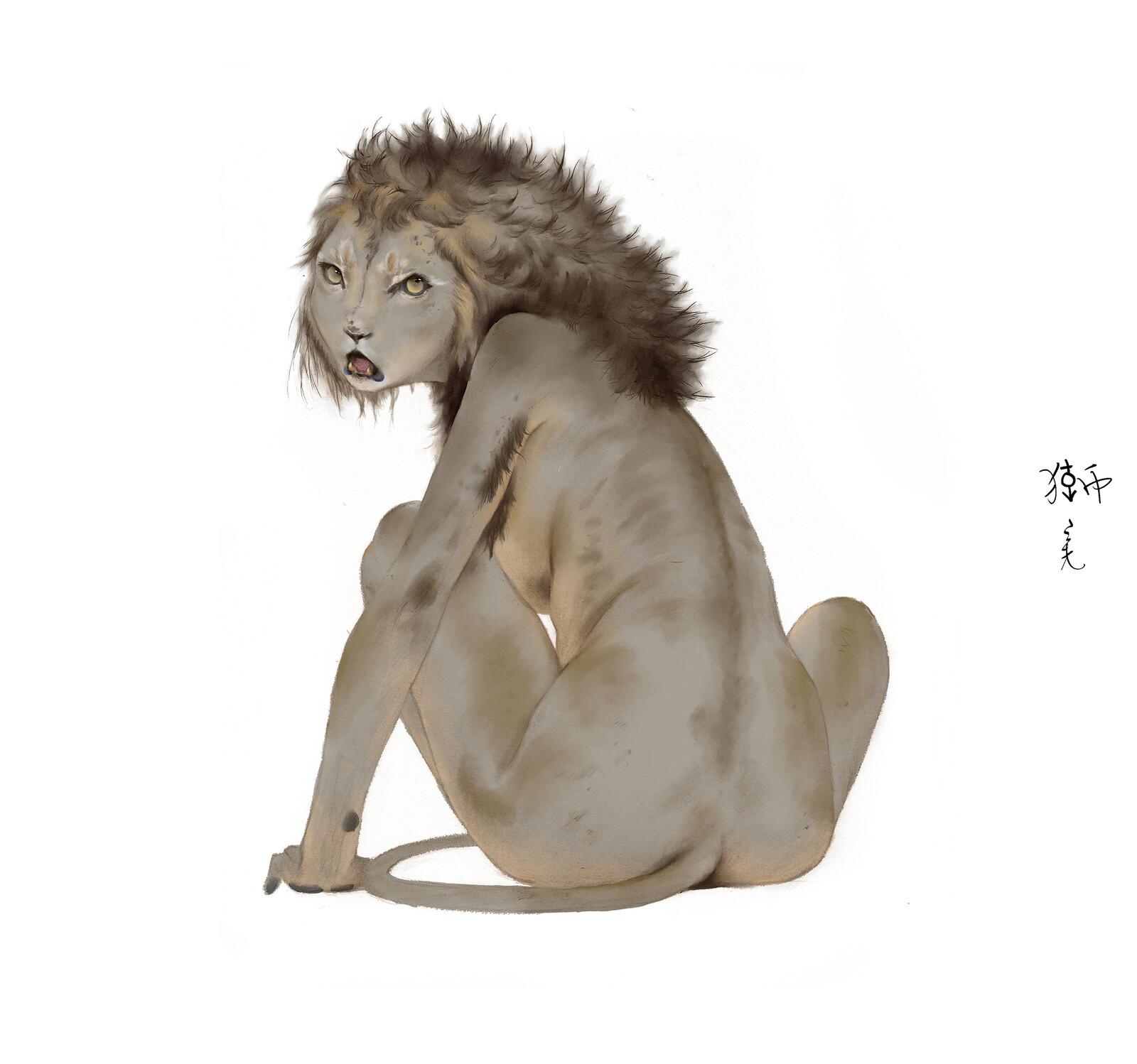 fe-male-lion