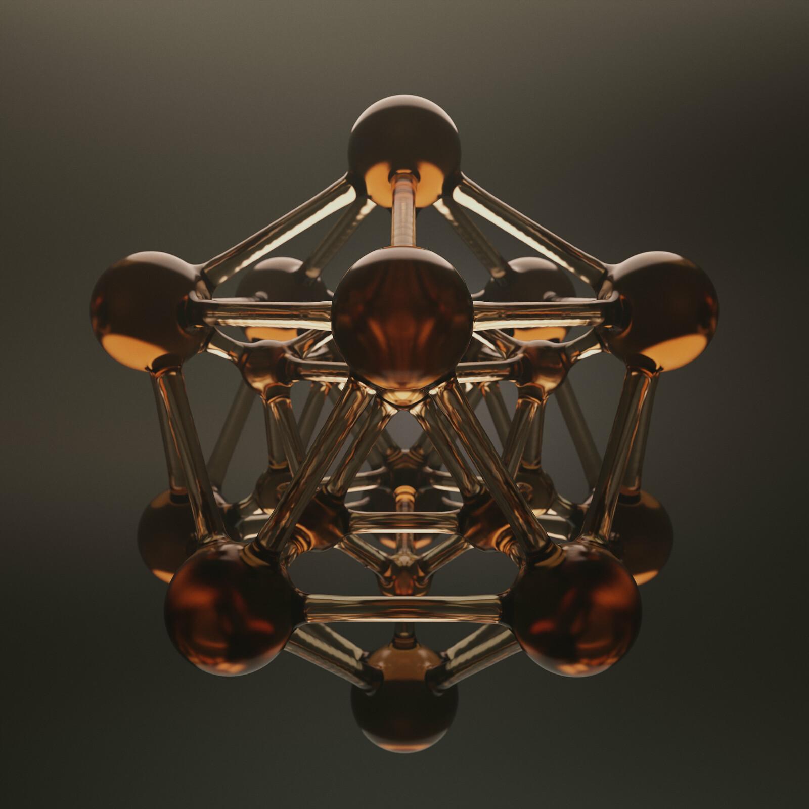 Double Glass Icosahedron