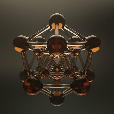 Jan albert vroegop glass icosahedron hq