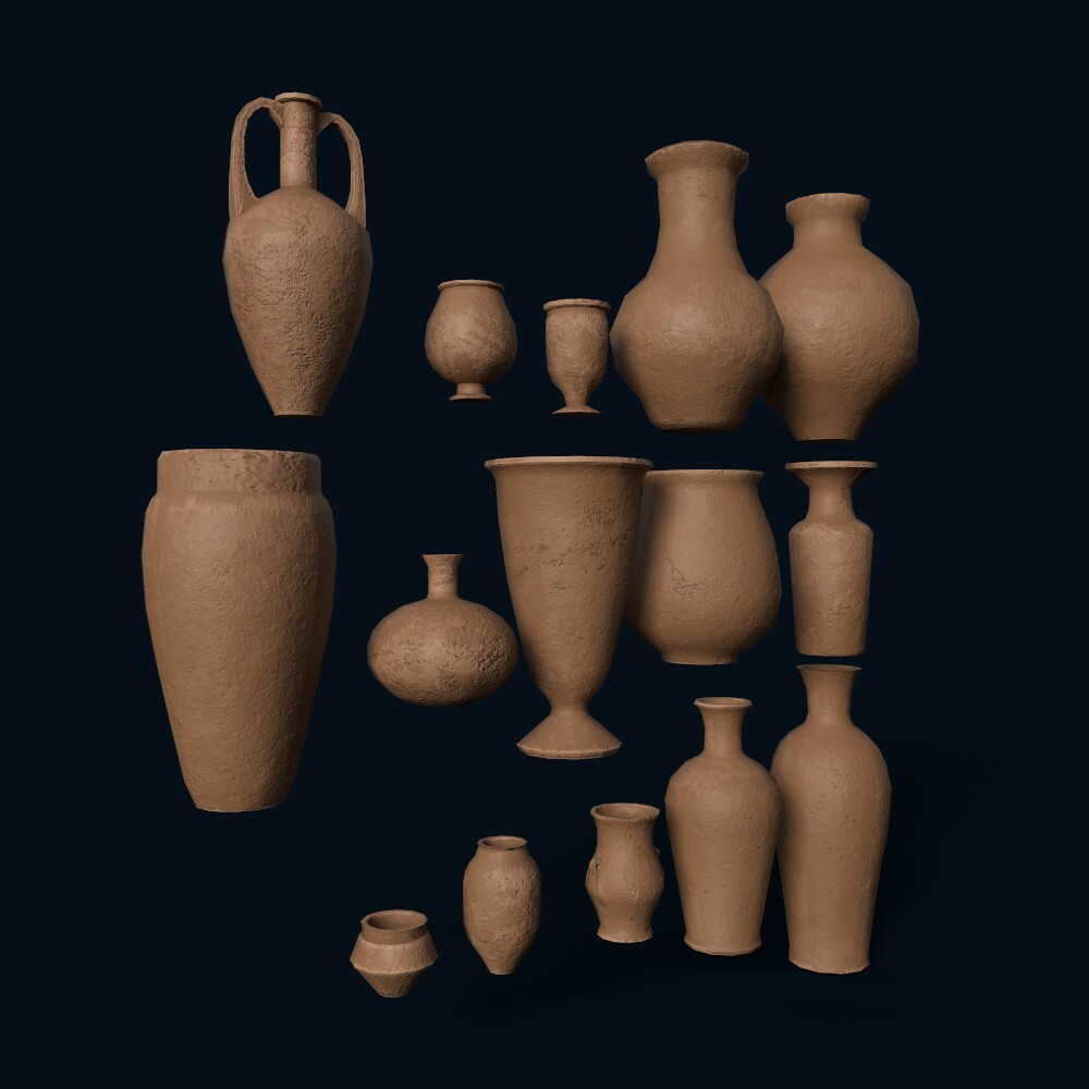 Vases (model by Thomas De Neef)