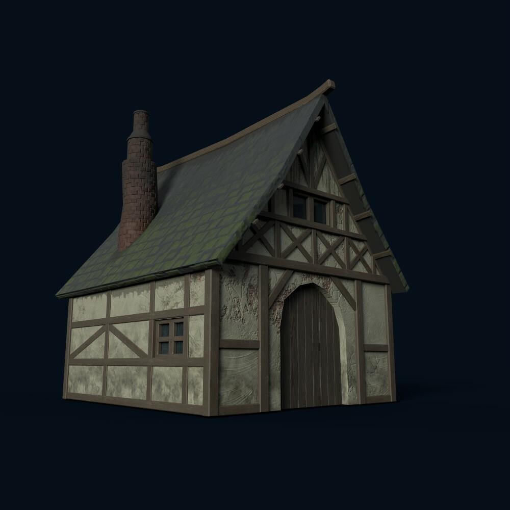 House 1 (model by Thomas De Neef)