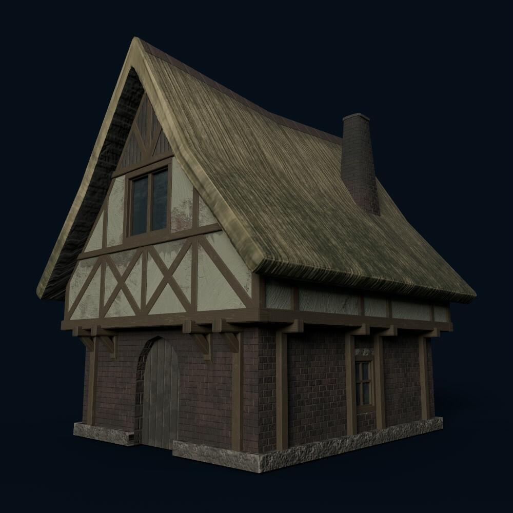House 2 (model by Thomas De Neef)
