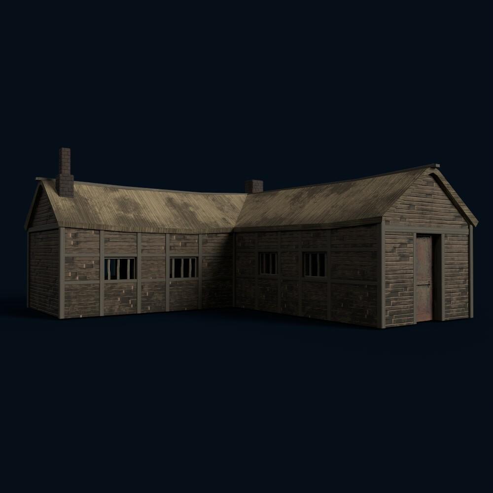 Barn (own model)
