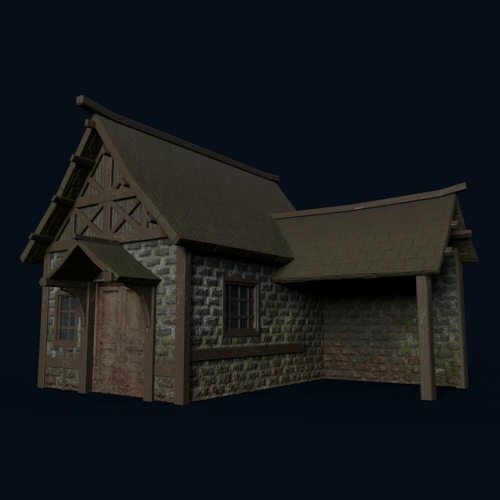 House 5 (model by Thomas De Neef)