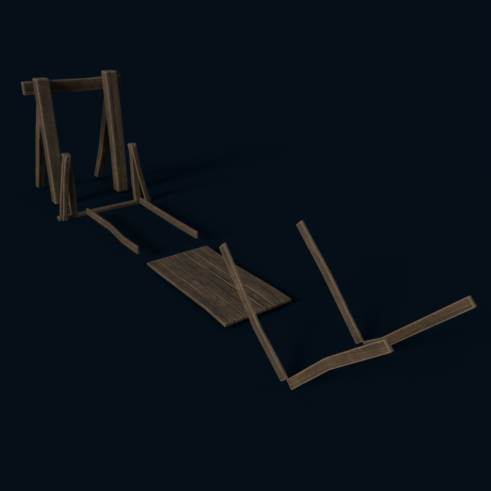 Bridge Parts (own model)