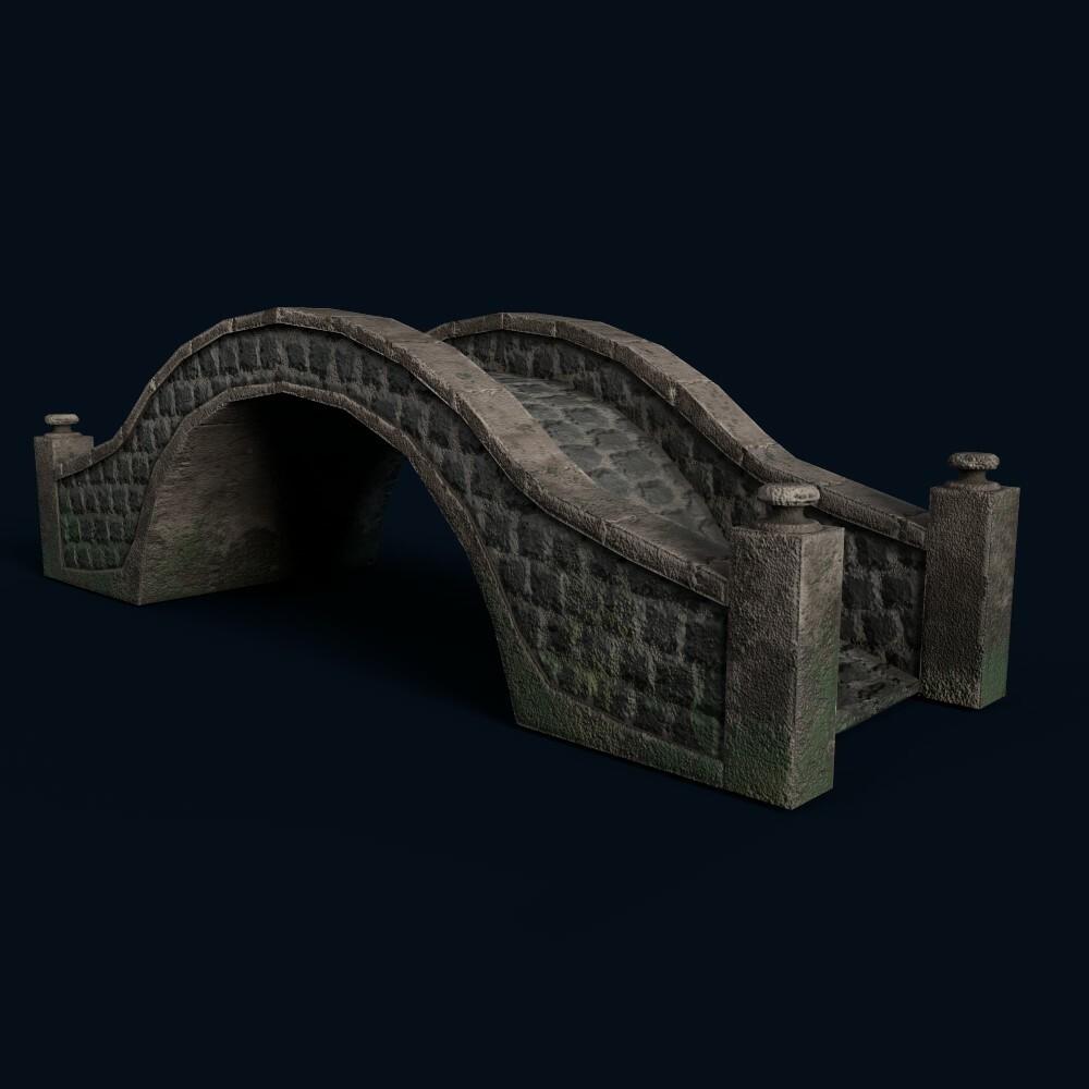 Small Stone Bridge (model by Thomas De Neef)