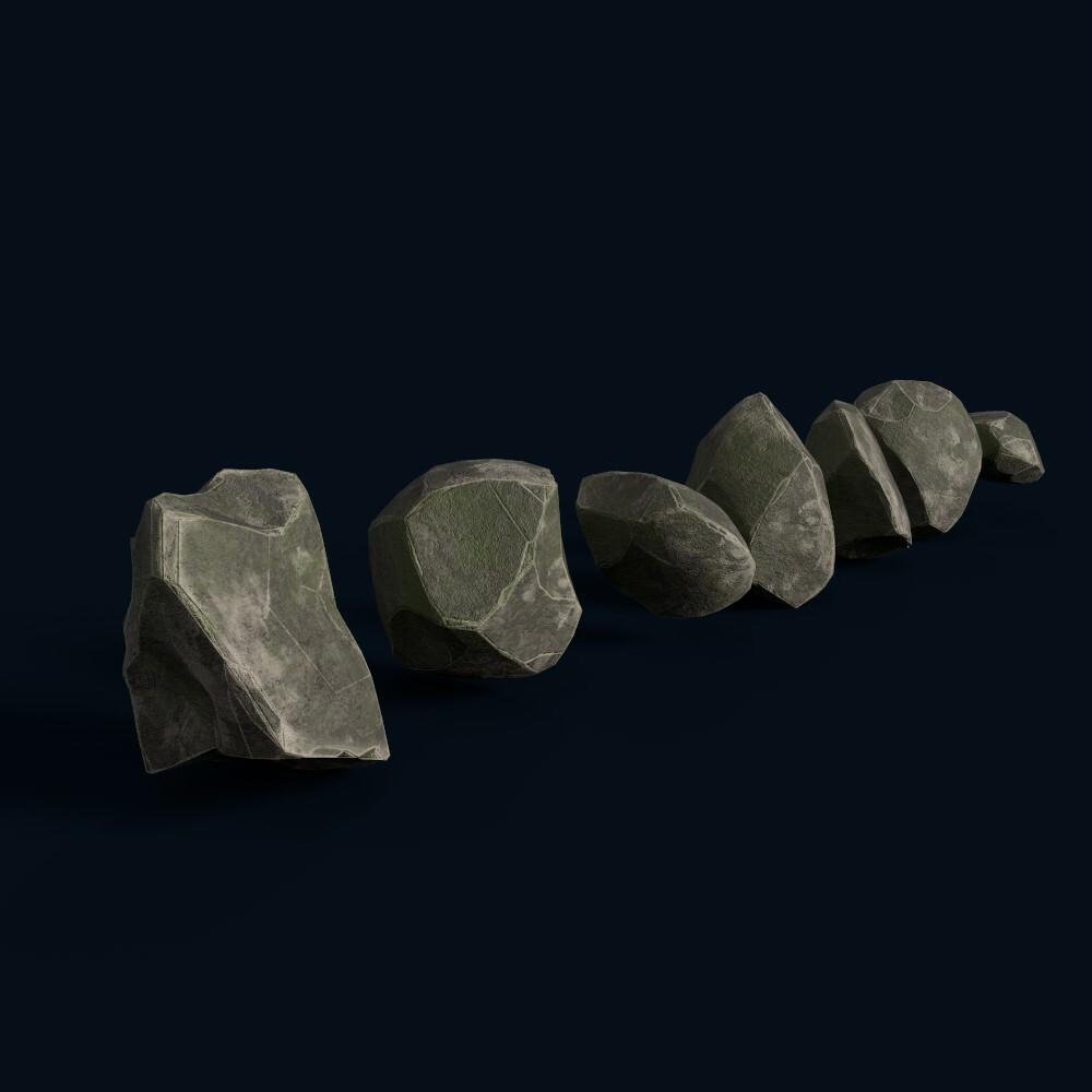Small rocks (own model)