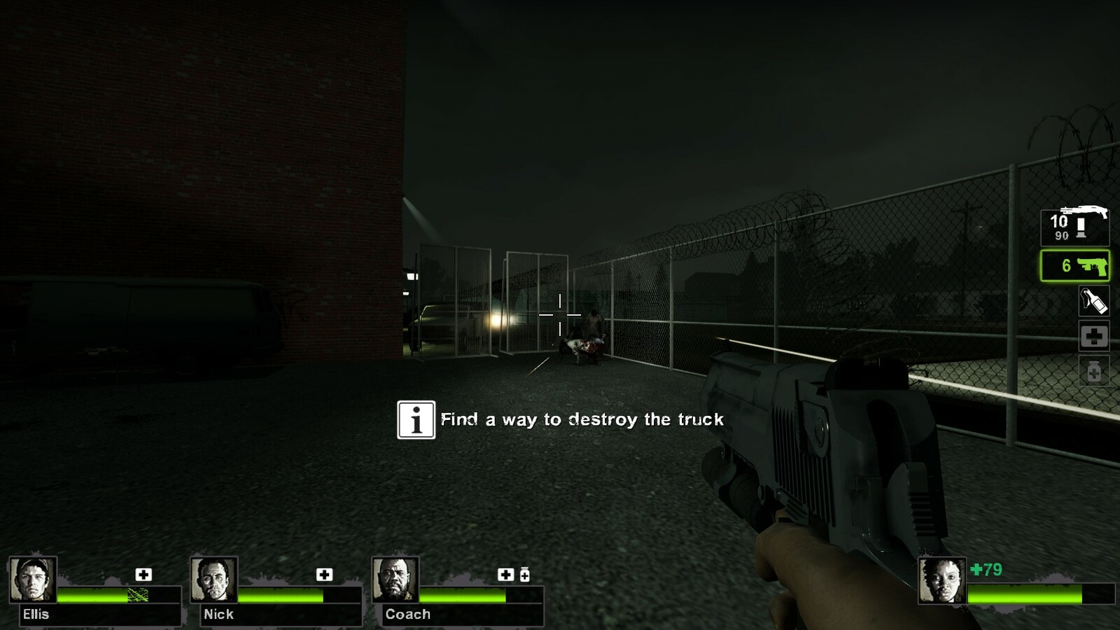 The second horde event. Players must find a way to destroy the truck to get through the barricade.