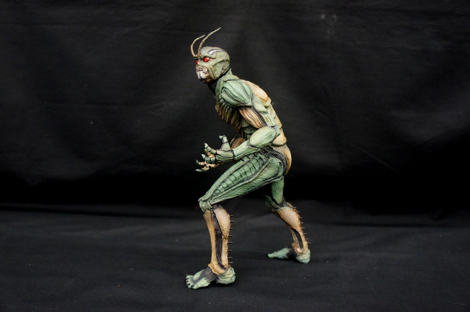真・仮面ライダー  Shin Kamen Rider 1:6 scale Art Statue  https://www.solidart.club/
