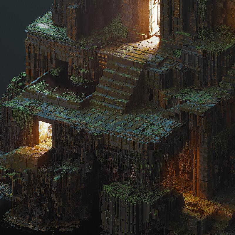 """Lost Temple II""-Night Version"