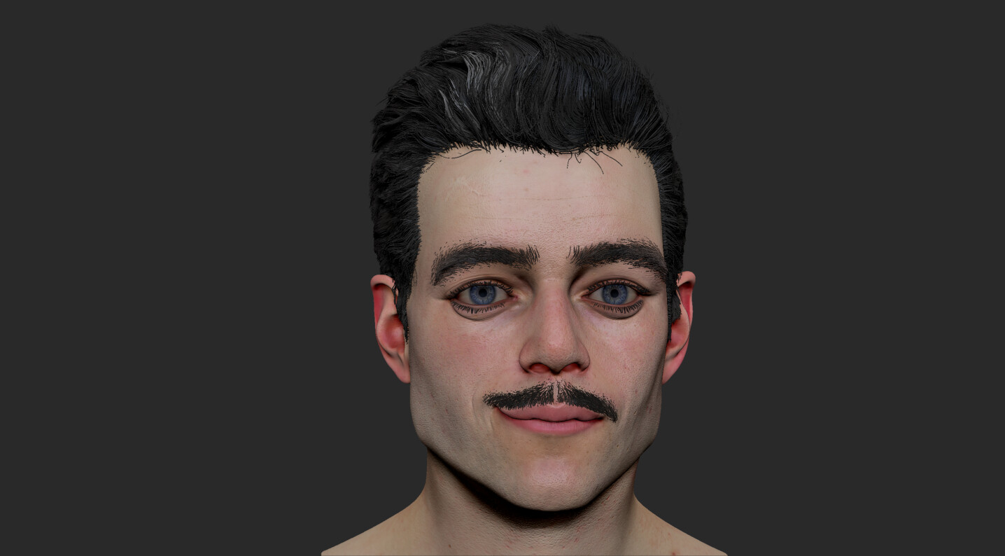 Young Gomez Addams Polypaint texture