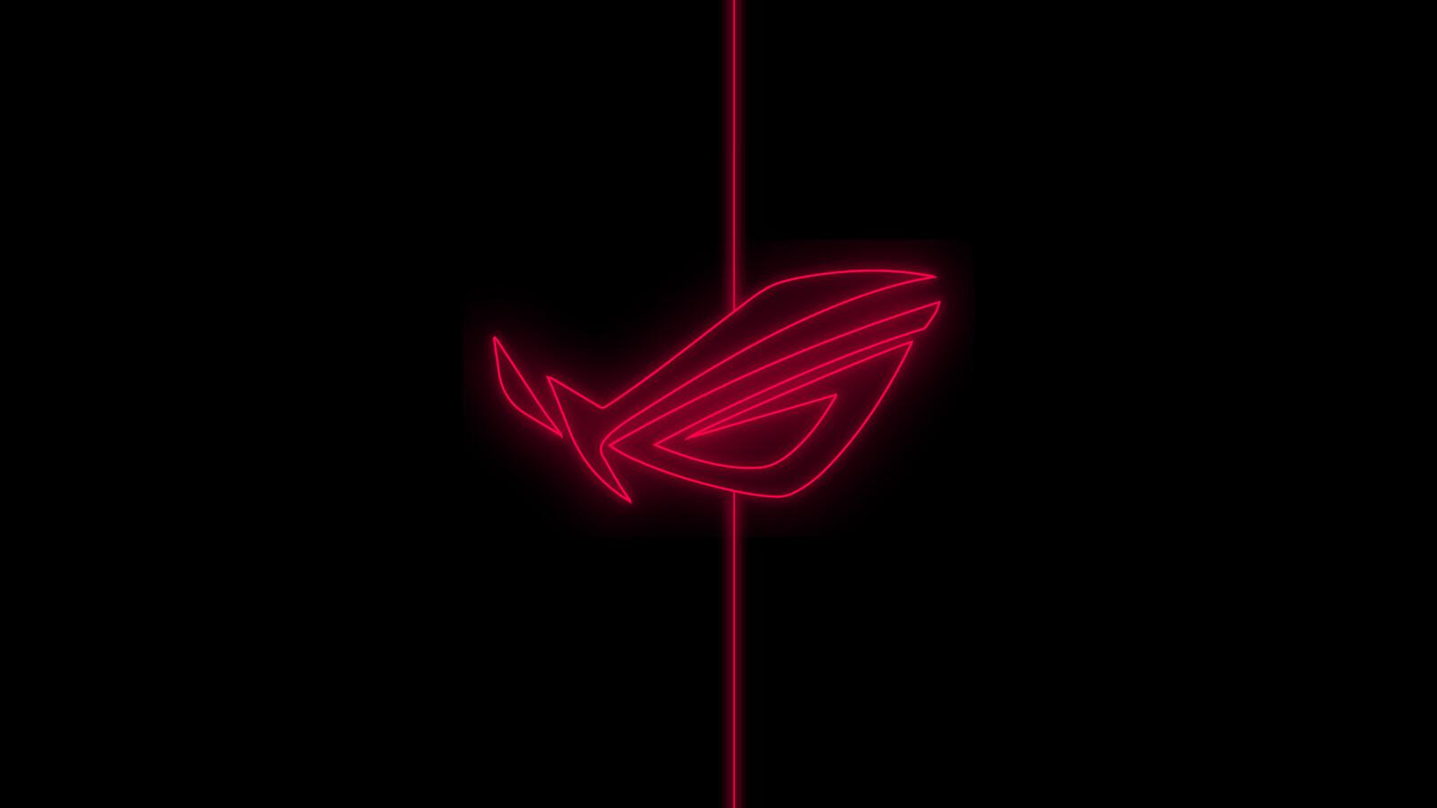 Asus ROG Neon Logo