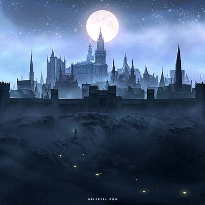Nele diel the dark city